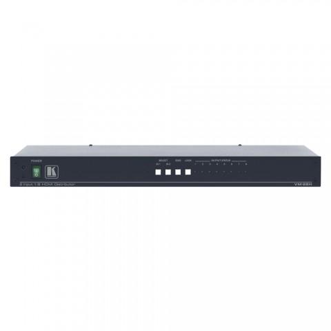 KRAMER , HDMI distribution amplifier, IN: 2 x HDMI | OUT: 8 x HDMI, W x H x D: 483 mm x 45 mm x 178 mm