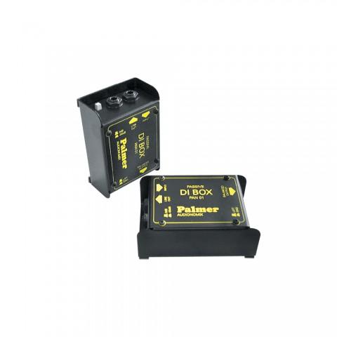 Palmer DI-Box passiv mono, IN: Klinke 6,3 mm, unsymmetrisch | OUT: XLR 3-pol, 0 HE