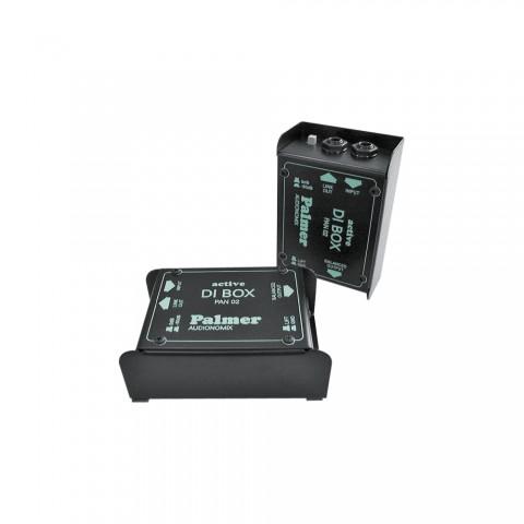 Palmer DI-Box aktiv mono, B x H x T: 73 mm x 42 mm