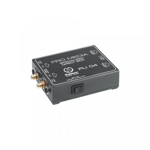 Palmer Pro media DI-box passive stereo