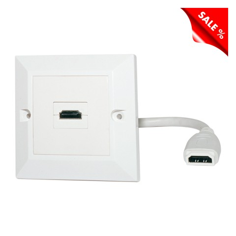 connection-modul , plastic, colour: pure white