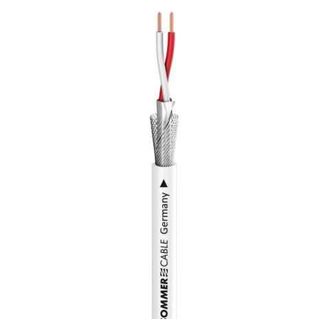 Patch- & Mikrofonkabel SC-Goblin; 2 x 0,14 mm²; PVC Ø 4,60 mm; weiß