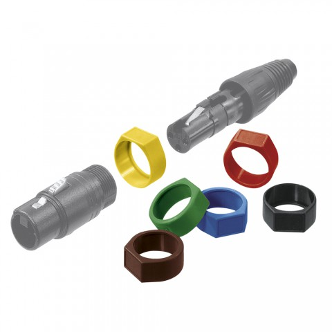 NEUTRIK Code ring for XLR MX, XLR FX