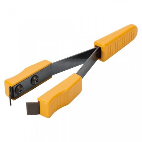 Abziehpinzette für schnelles Abziehen von dünnen Isolationen, orange