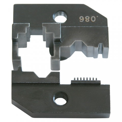 Crimp die for WCZ1200: RJ45 connectors, red