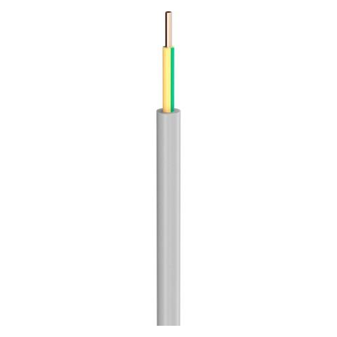Lastleitung NYM-J; 1 x 6,00 mm²; PVC, flammwidrig, Ø 7,00 mm; grau; Eca