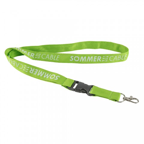 Sommer cable lanyard, width: 25 mm, height: 580 mm, black