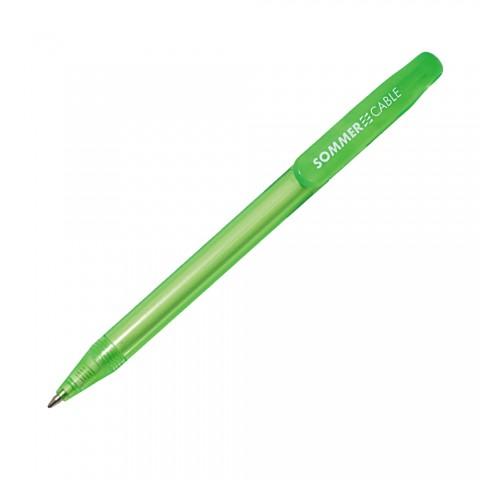 Sommer cable Kugelschreiber, Breite: 10 mm, Höhe: 145 mm, grün
