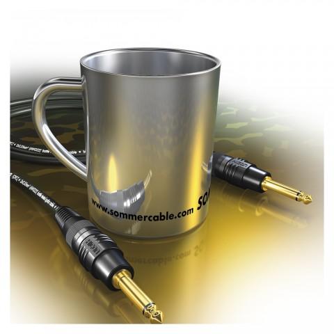 Sommer cable Edelstahlbecher, Breite: 115 mm, Höhe: 90 mm, Edelstahl