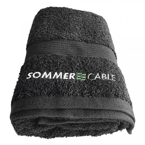 Sommer cable Handtuch, Breite: 500 mm, Höhe: 1000 mm, schwarz