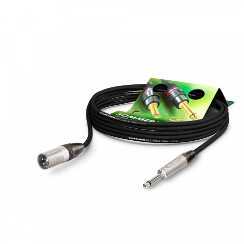 Microphone Cable Stage 22 Highflex, 2 x 0.22 mm² | XLR / jack, NEUTRIK®