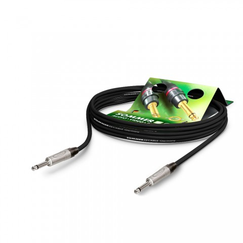 Instrument cable Tricone® MKII, 1 x 0.22 mm² | jack / jack, NEUTRIK®