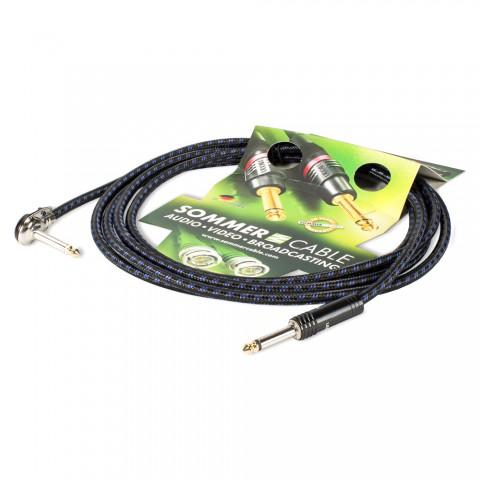 Instrument cable SC-Classique, 1 x 0,50 mm² | jack / jack 90°, HICON