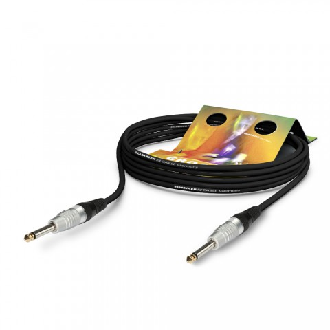 Instrument cable SC-Spirit, 1 x 0,50 mm² | jack / jack, HICON