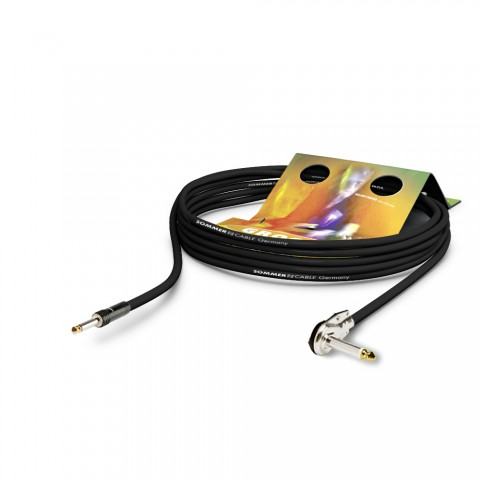 Instrument cable SC-Spirit, 1 x 0,50 mm² | jack / jack 90°, HICON