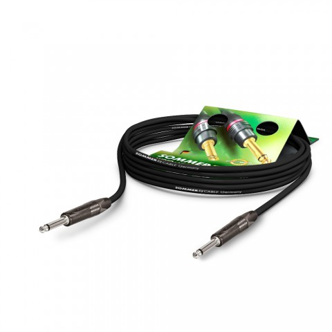 Instrument cable SC-Spirit, 1 x 0,50 mm² | jack / jack, NEUTRIK