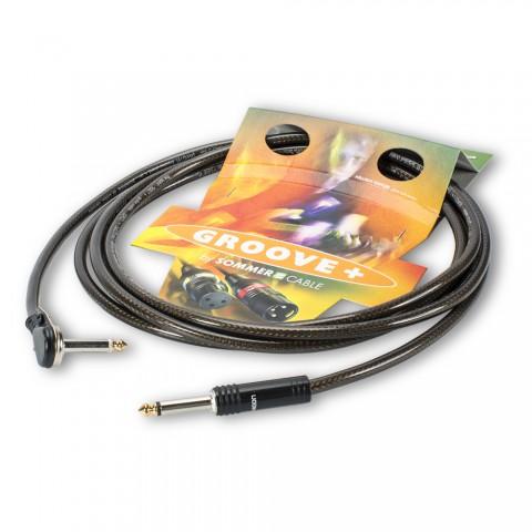 Instrumentenkabel Hellmut Hattler Signature-Kabel SC-SPIRIT XXL, 1 x 0,75 mm² | Klinke / Klinke 90⁰, HICON