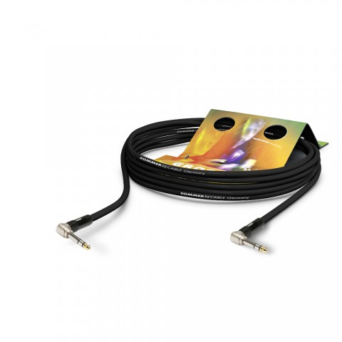 Insert cable balanced Stage 22 Highflex, 2 x 0,22 mm² | jack 90° / jack 90°, HICON