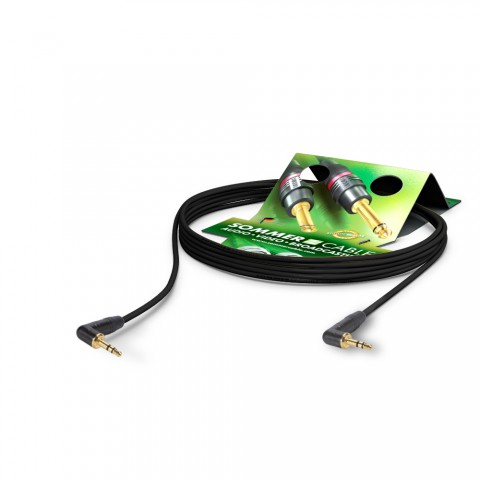 MP3-Player und Headsetkabel SC-Cicada, 2  x  0,14 mm² | Miniklinke / Miniklinke, NEUTRIK