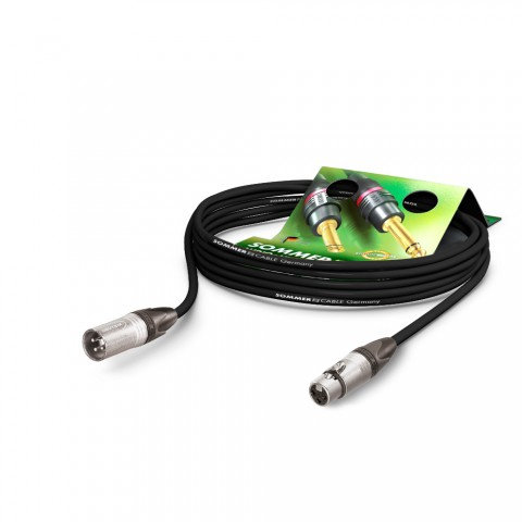 Microphone Cable SC-Source MKII Highflex, 2 x 0.25 mm² | XLR / XLR, NEUTRIK®