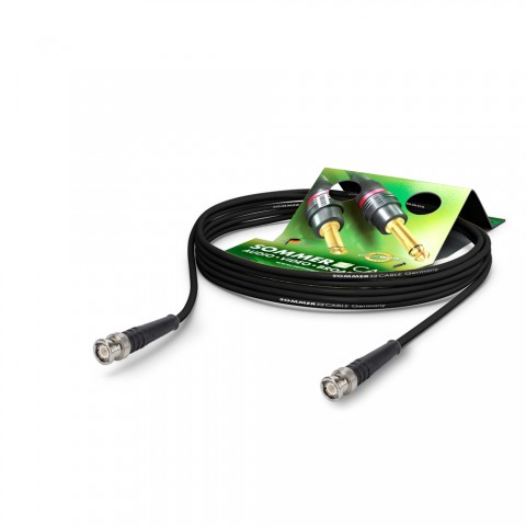 HF-Kabel RG-Classic 50 Ohm, 1 x 0,48 mm² | BNC / BNC, HICON