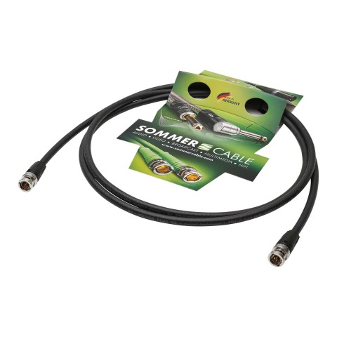 Video-Patchkabel HD-SDI (HDTV) SC-Vector PLUS 1.2/4.8 DZ, 1  x  0,88 mm² | BNC / BNC, NEUTRIK