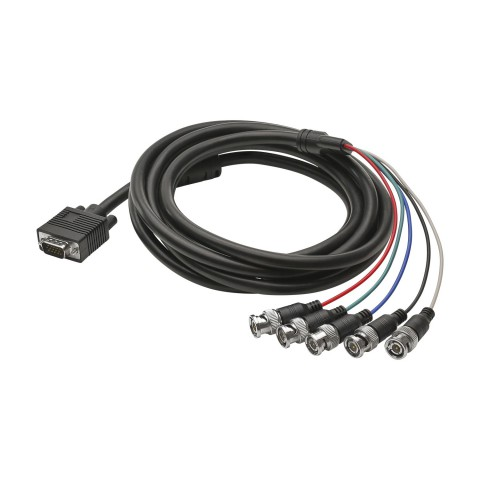 Monitor cable VGA, 15  | HD-SUB-D / BNC