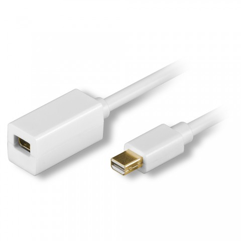 Multimediakabel DISPLAYPORT | DisplayPort mini male / DisplayPort mini female