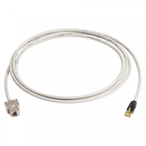 Consolidation-Point-Kabel SC-Mercator CAT.7, 8  x  0,14 mm² | RJ45 / RJ45, HIROSE