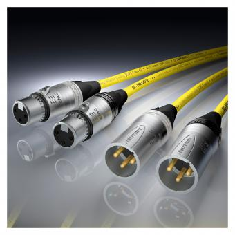 NF-Phonokabel Stereo-Paar Epilogue QuadCore HighEnd, 4 x 0,14 mm² | EMC-Spezial-XLR / EMC-Spezial-XLR, NEUTRIK