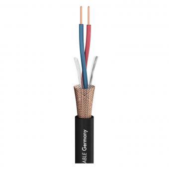 Microphone Cable Club Series MKII; 2 x 0,34 mm²; PVC Ø 6,50 mm; black