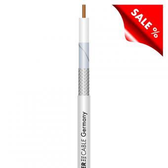 SAT-Kabel SC-Astral; 1 x 0,50; PVC Ø 3,60 mm; weiß