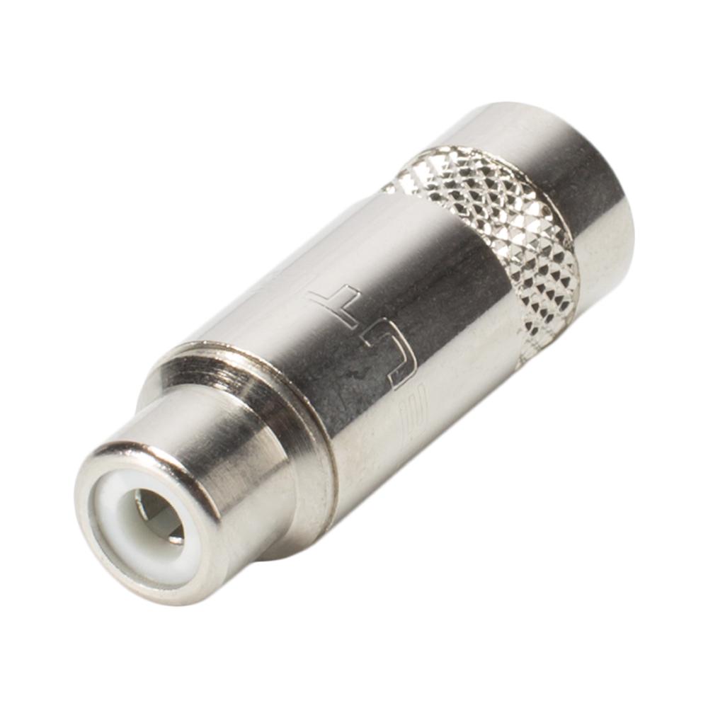 RCA Rean NYS372P Cinch 2-pol Metall-,Löttechnik-Buchse gerade