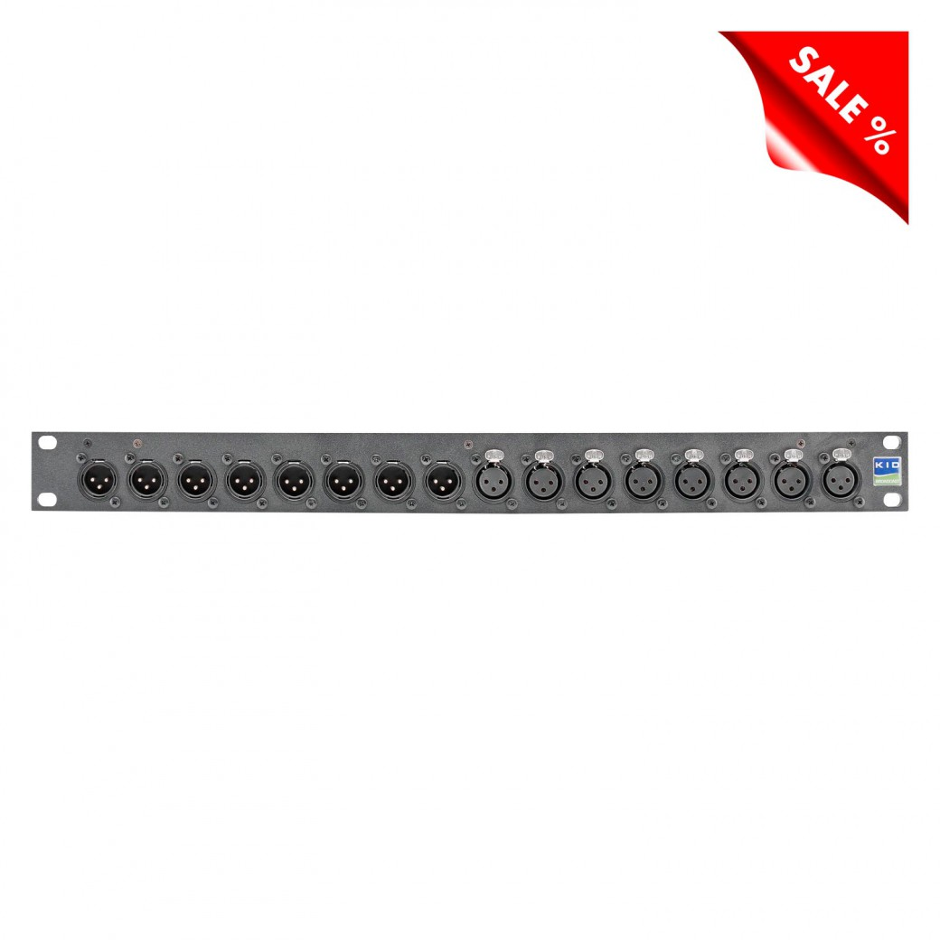 Sommer cable Shop | Sommer cable Audio-Steckfeld XLR , 1 ...