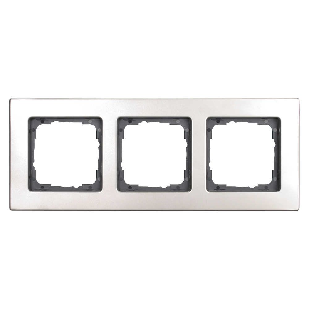 Sommer Cable Shop Switch Frames 3 Way Scale 50x50 Mm Wiring Red Black White Stainless Steel Colour