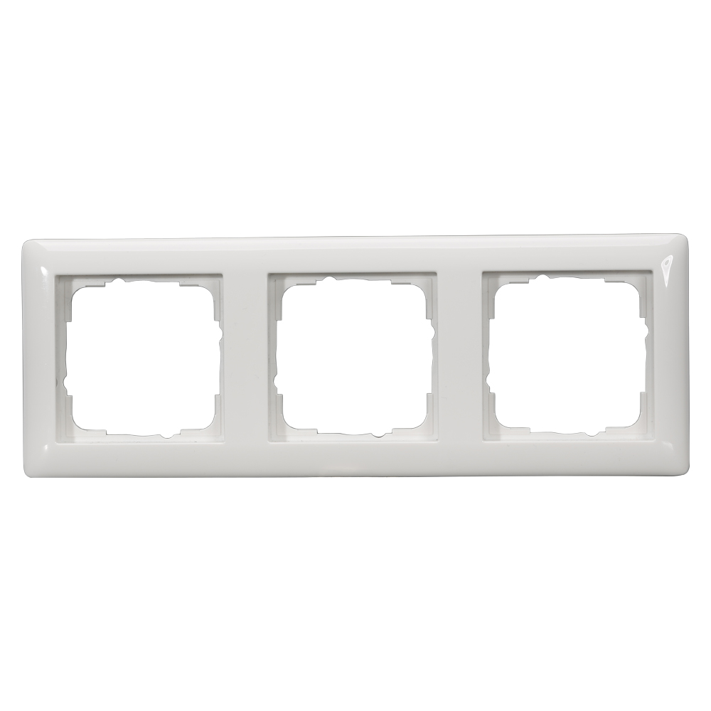 Sommer Cable Shop Switch Frames 3 Way Scale 55x55 Mm Plastic Wiring Red Black White Colour Pure