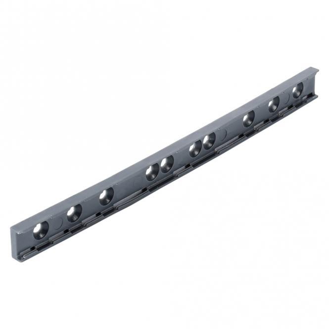 SYSBOXX Beschriftungsprofil, 3 BE für Beschriftungsstreifen 6 mm Höhe, anthrazit RAL 7016