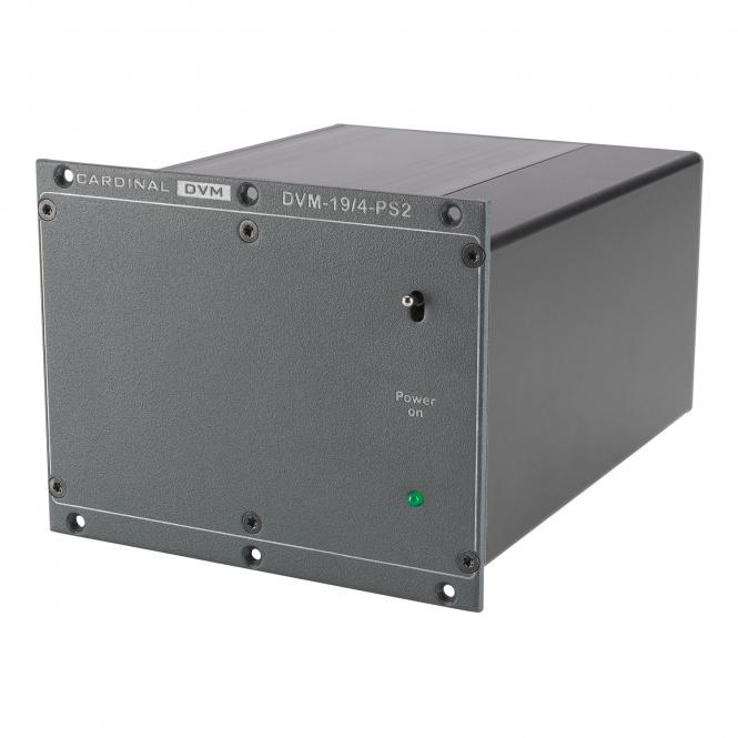 CARDINAL DVM Highpower-Netzteil 6,5 A für 194-Serie, 24 VDC -> 4 pin-XLR, max. 3 Geräte für passend für 194-Serie von CARDINAL DVM