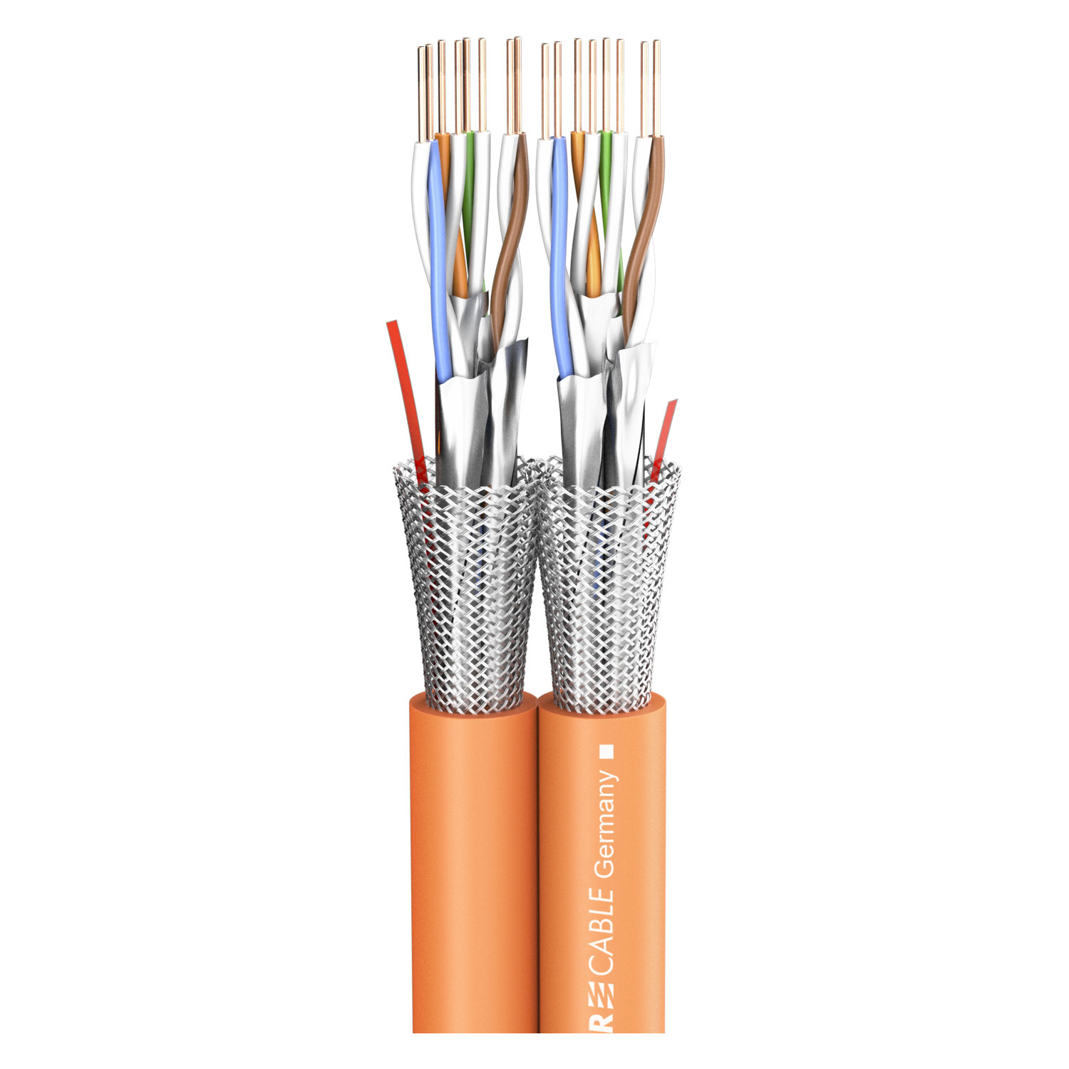 sommer cable shop dmx power sc mercator cat 7 duplex 2 x cat 7 frnc 17 x 8 5 mm orange. Black Bedroom Furniture Sets. Home Design Ideas