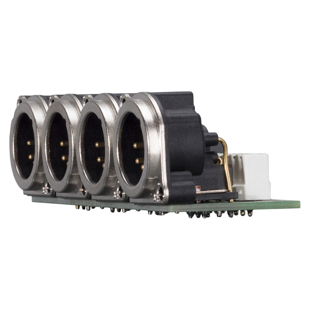 Sommer Cable Shop Connector Module 4 X Xlr B Series 5